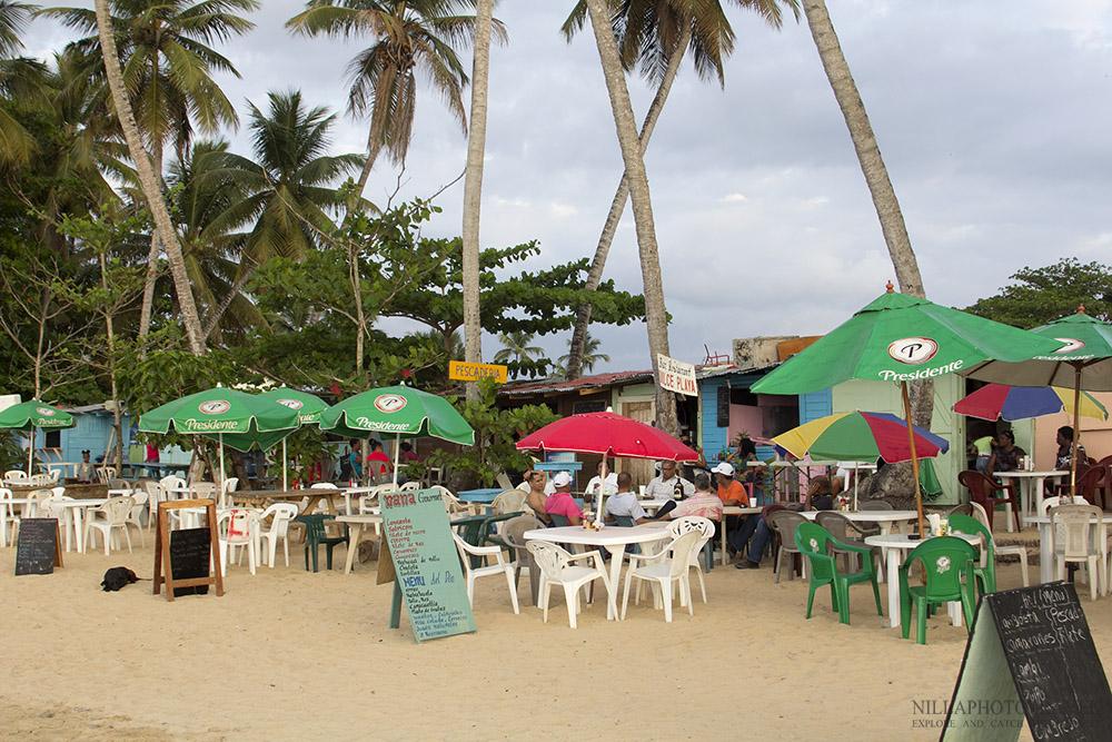 Dominican Republic_Las Terrenas_Beach cafe