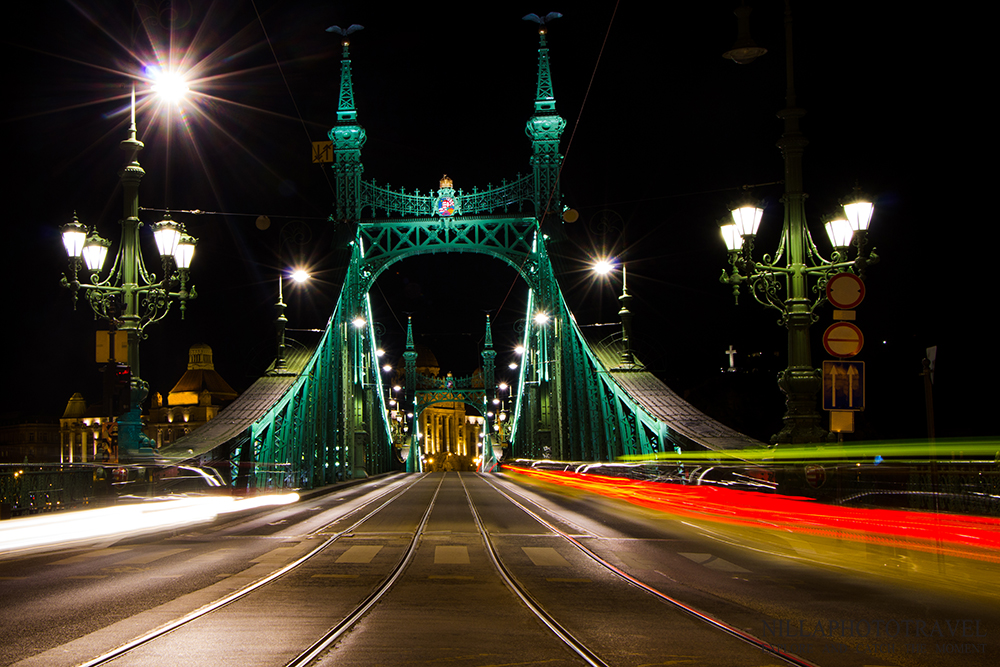 Budapest, Liberty Bridgre, city photography